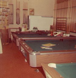 Pictured Are Delmo Delta Fisher And Brunswick Home Pool Tables Circa 1968
